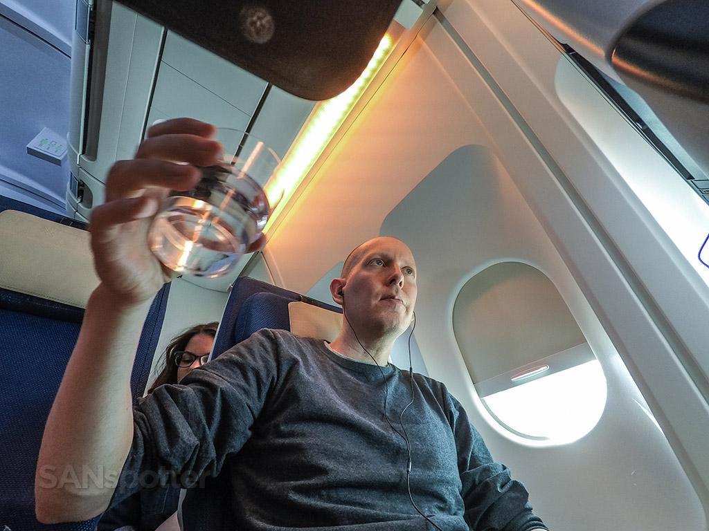 SANspotter selfie edelweiss Air