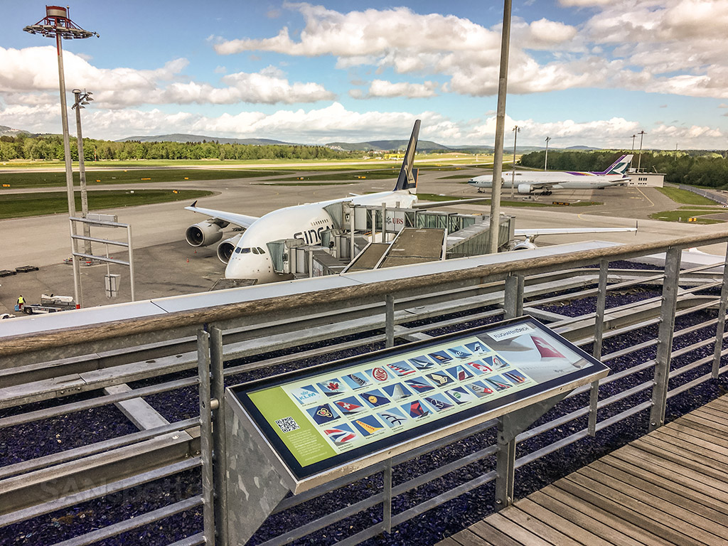 Zürich airport Observation deck