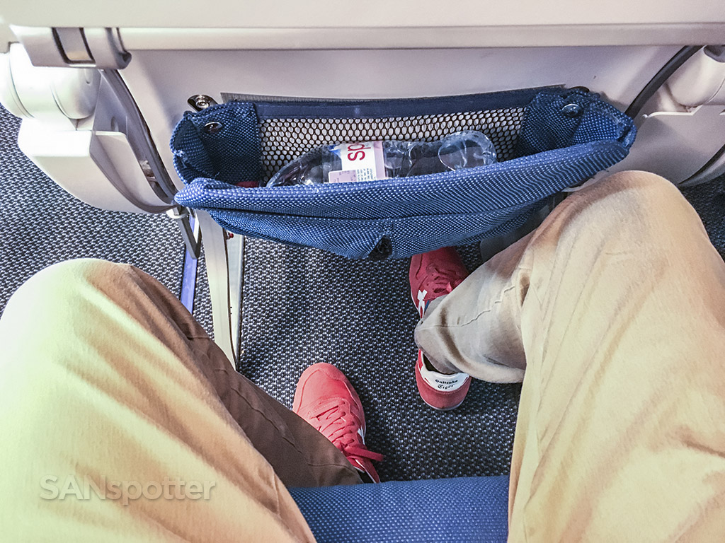 Edelweiss A340 Economy class seat pitch