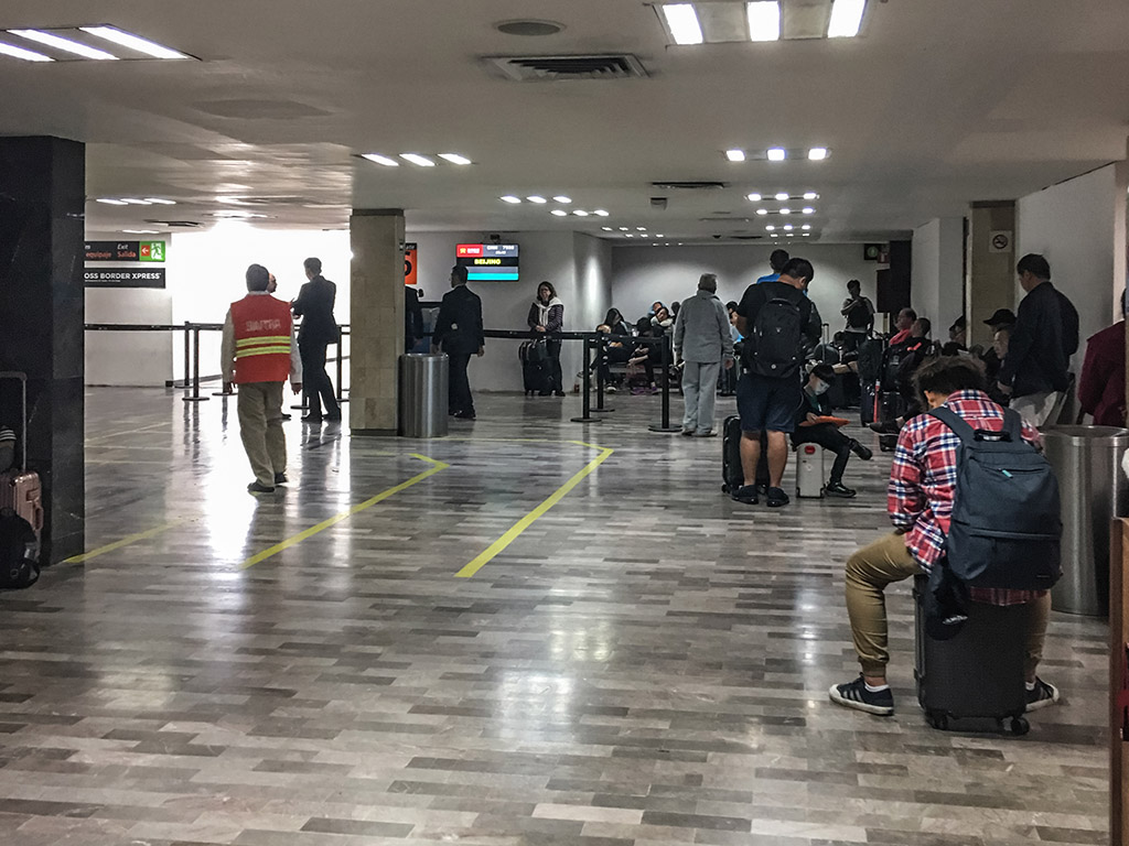 Hainan Airlines Tijuana airport departure gate
