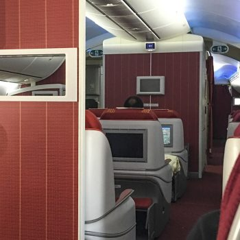 Hainan Airlines 787-8 interior