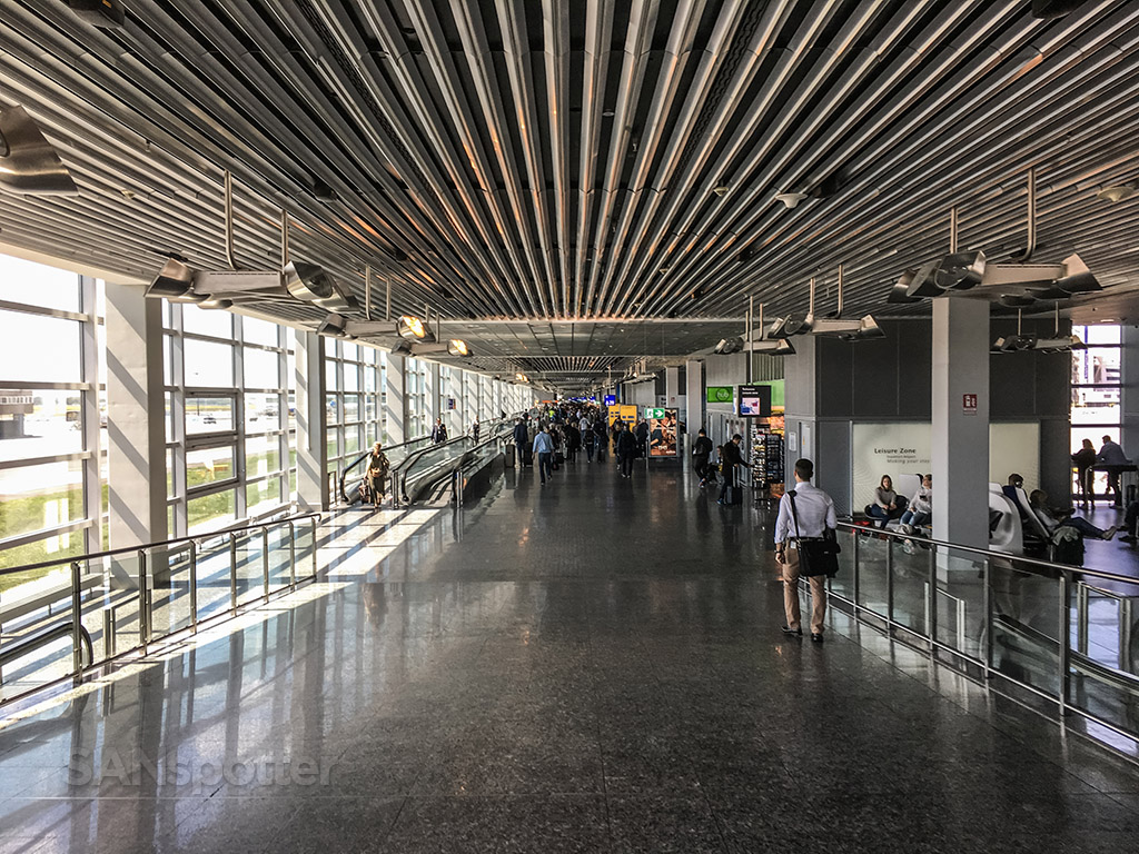 Concourse A Frankfurt airport