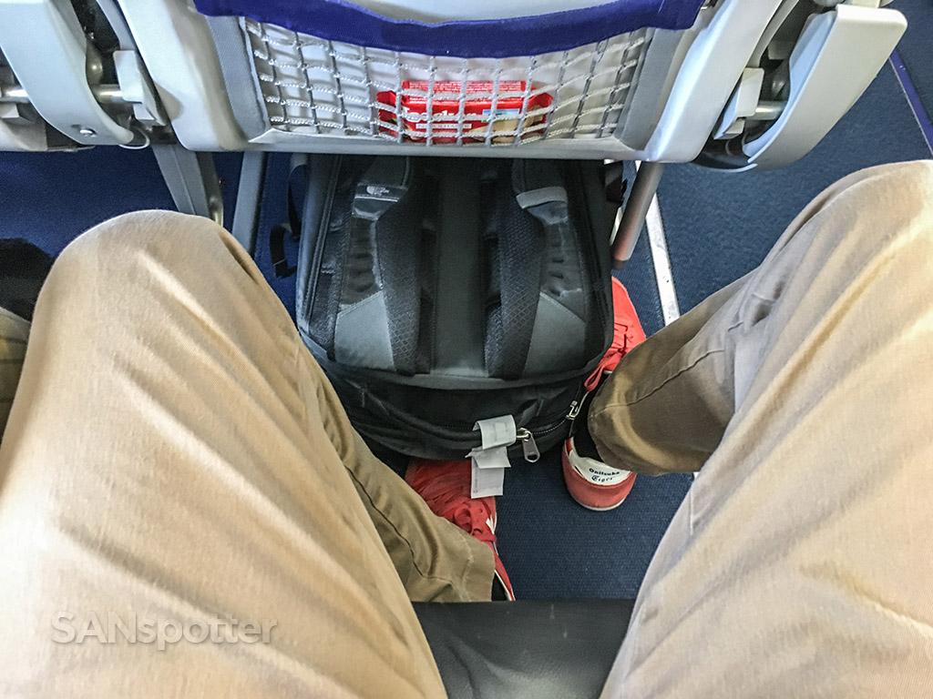 Lufthansa a319 seat pitch