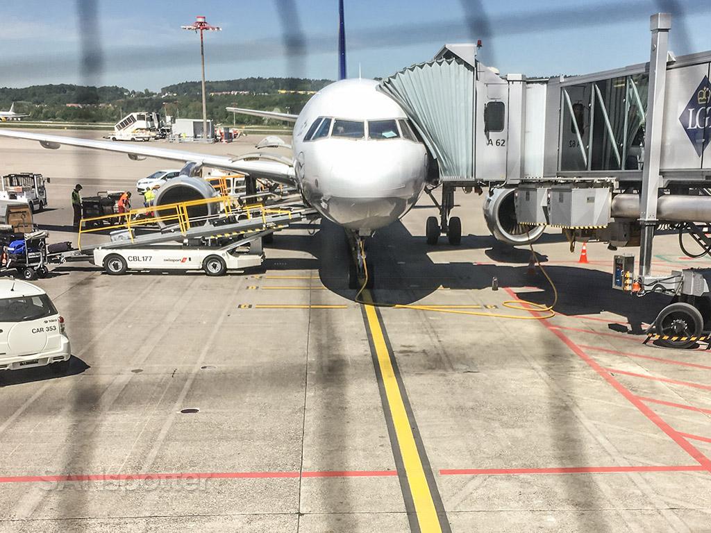 Lufthansa a319 Zürich airport