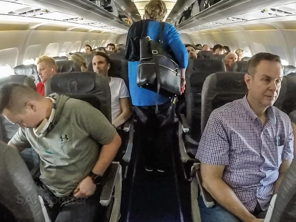 Lufthansa a319 interior