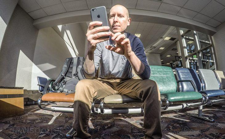 SANspotter travel blogger selfie