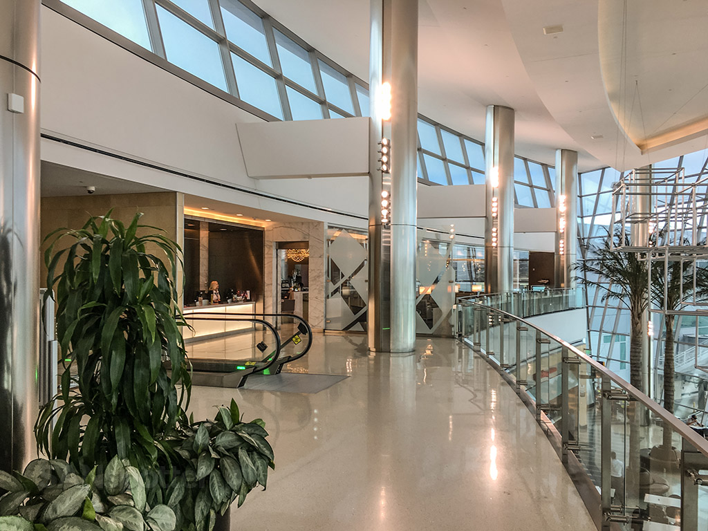 United club San Diego airport main entrance
