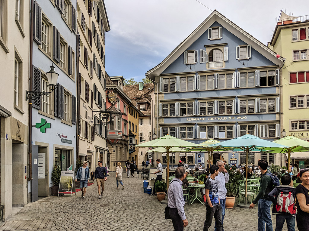 Zürich cafés and restaurants