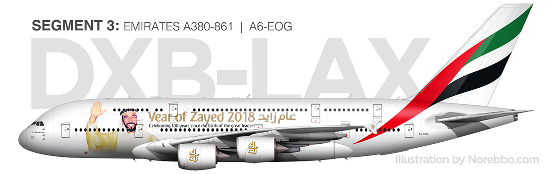 emirates a380 illustration by norebbo