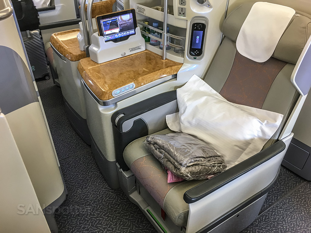 Seat 15D emirates A380 business class