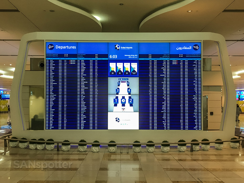 Dubai international airport departures