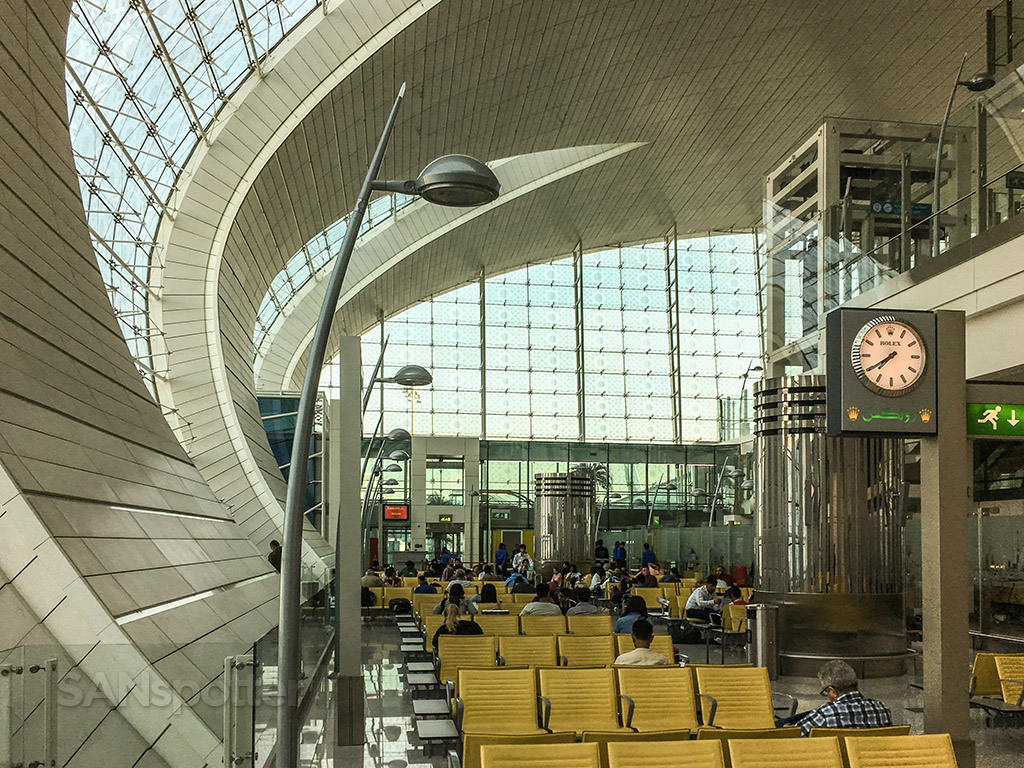 Dubai airport architecture