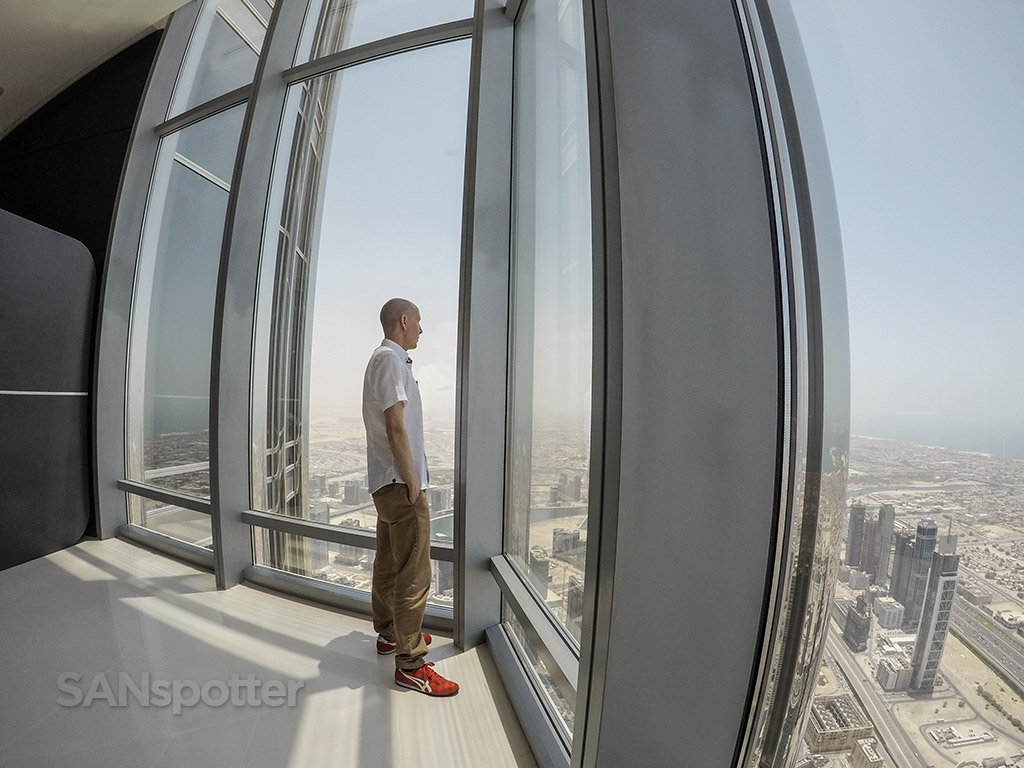 SANspotter selfie Dubai