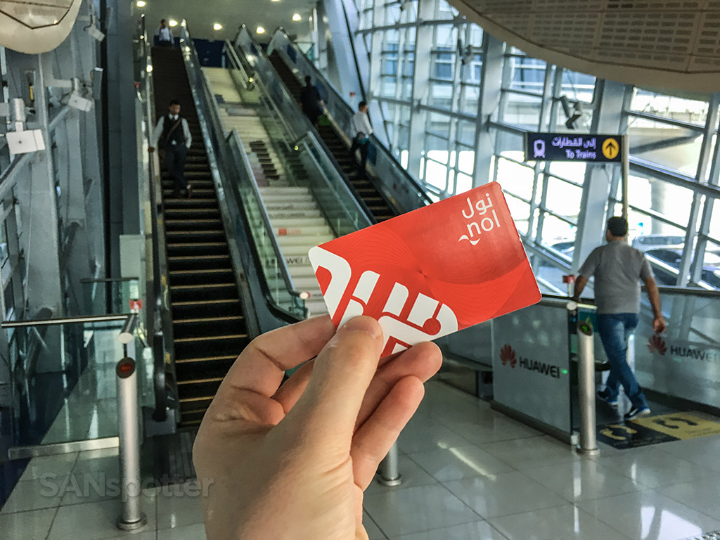 Dubai metro unlimited use pass