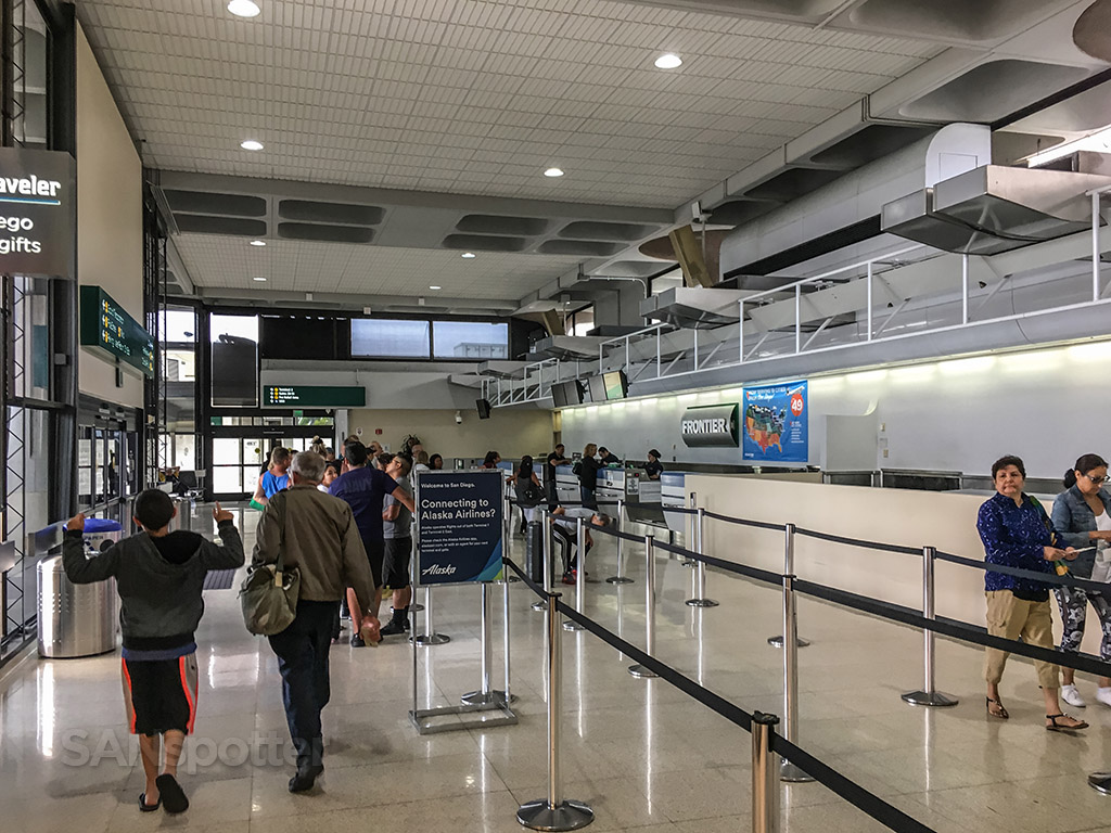 Frontier Airlines check in terminal one San Diego