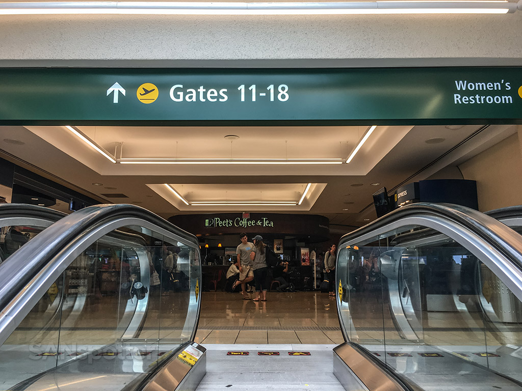 Terminal one entrance San Diego airport