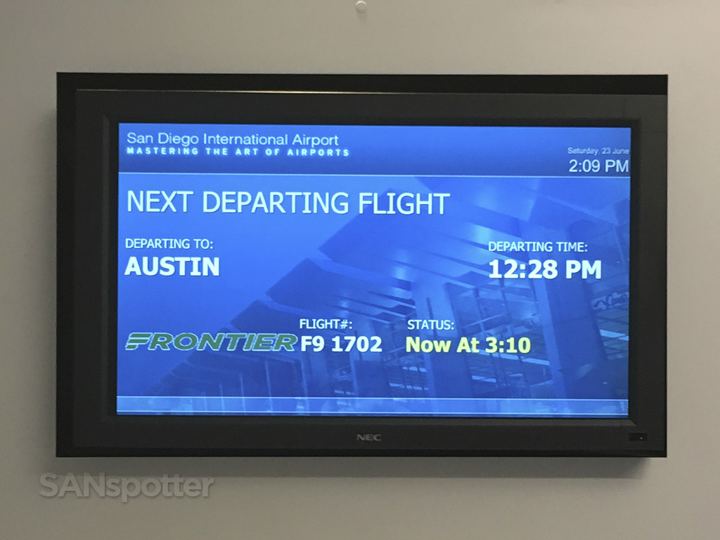 Frontier Airlines delayed flight