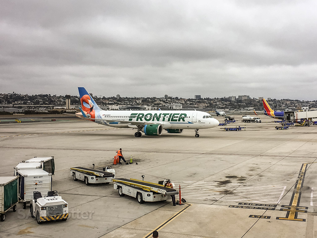 Frontier Airlines San Diego airport