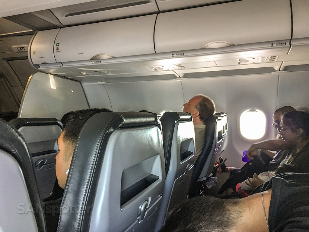 Frontier Airlines A320neo cabin