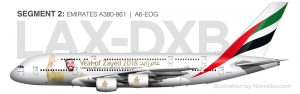 Emirates A380-800 Year of Zayed 2018 special livery