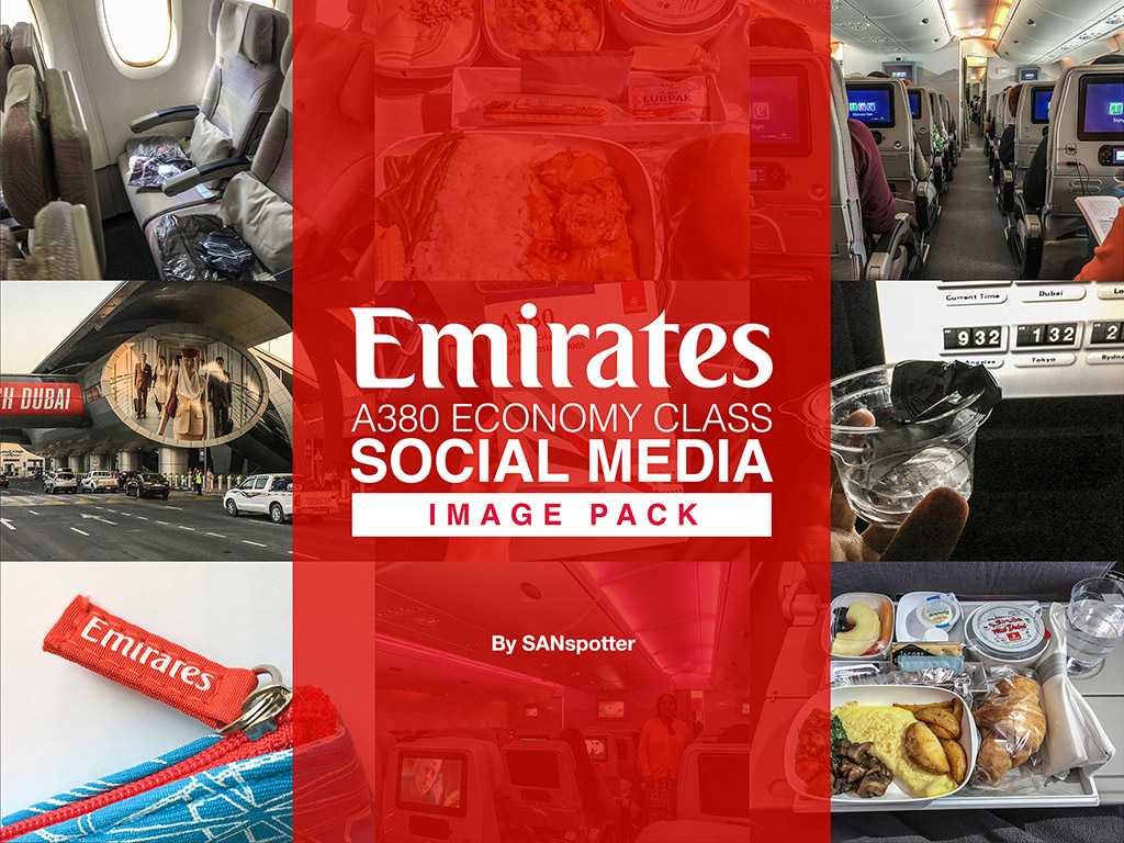 sanspotter emirates a380 economy class social media image pack