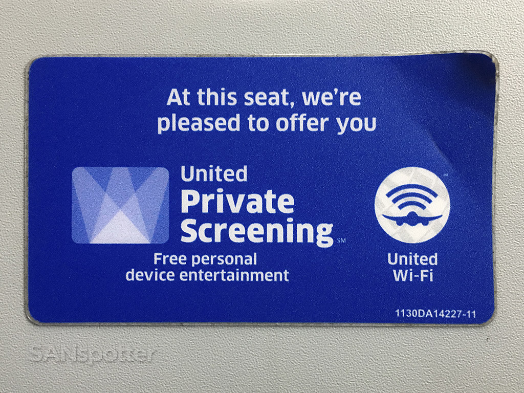 United airlines streaming Wi-Fi video entertainment