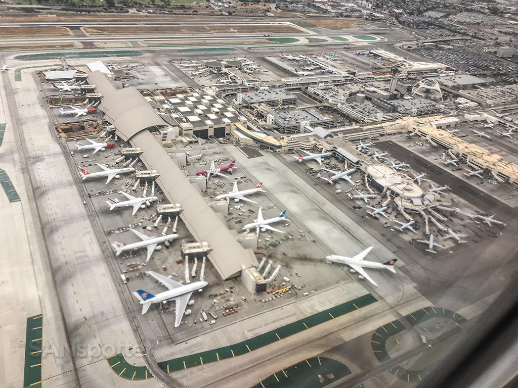 LAX aerial photos