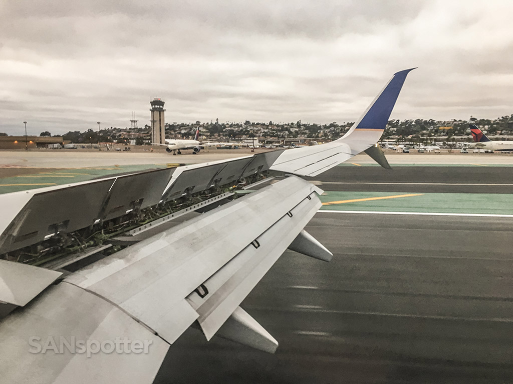 Landing at San Diego Airport