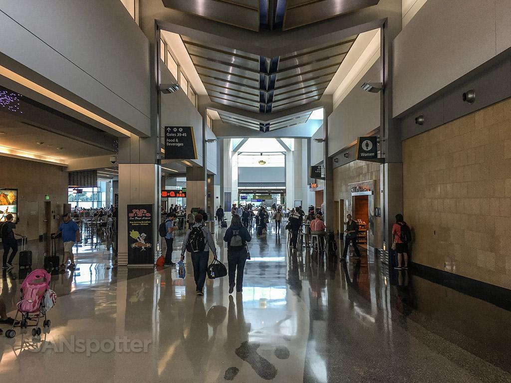 Terminal 2 west San Diego international airport