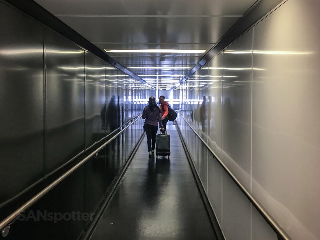 United express jet bridge San Diego international airport