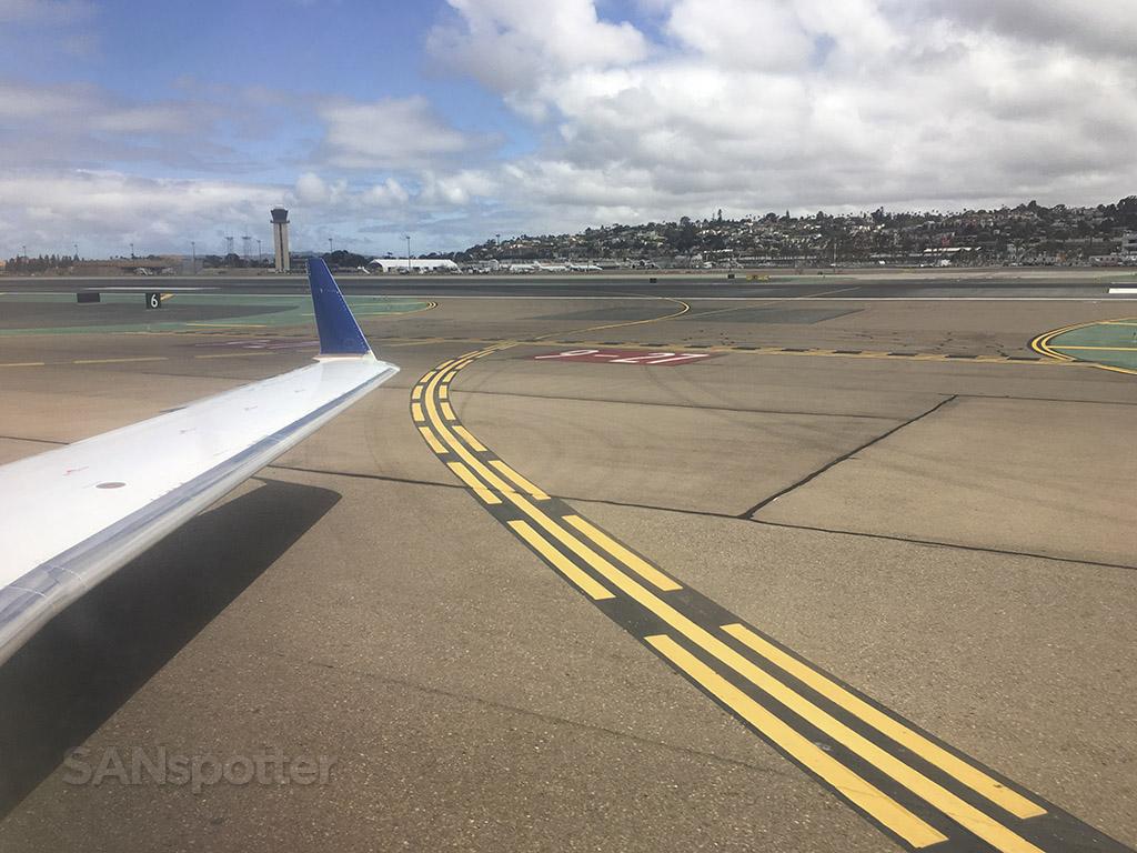 San Diego international airport runway