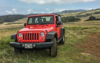 Renting a Jeep in Maui