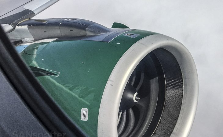 Frontier Airlines A320neo engine