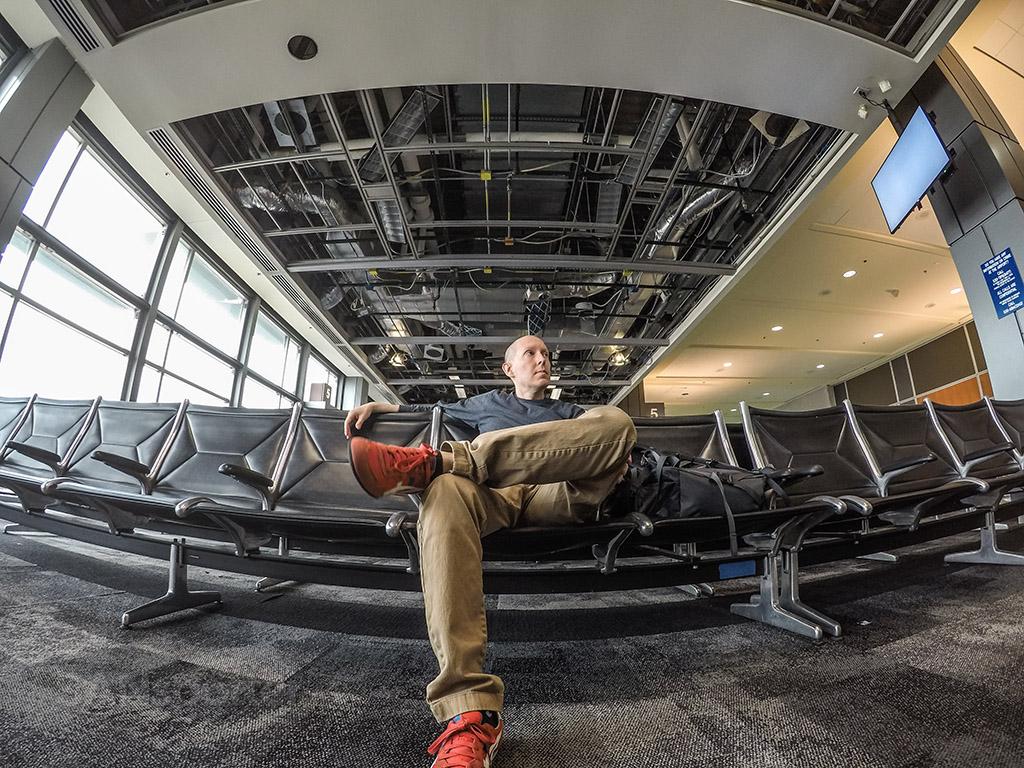 SANspotter selfie Austin Airport