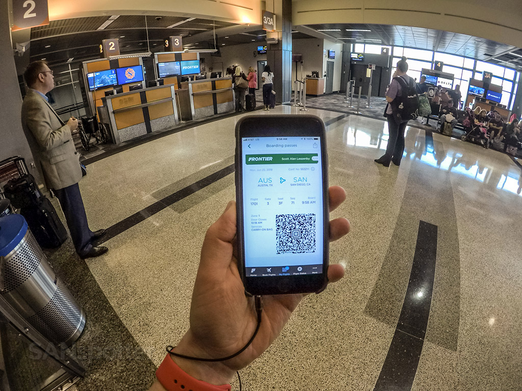 Frontier airlines mobile boarding pass