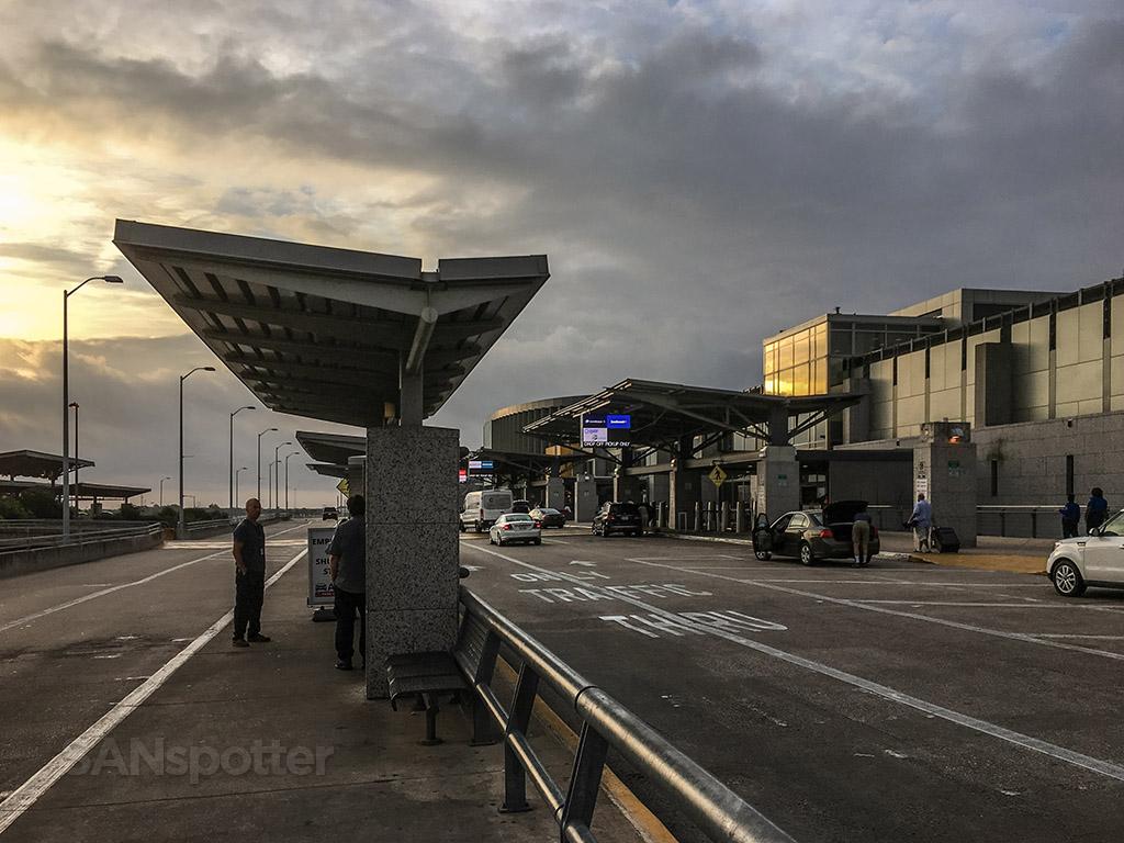 Austin airport departures level