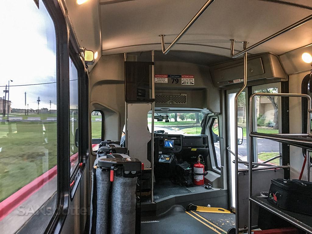 Austin airport shuttle bus North terminal to south terminal