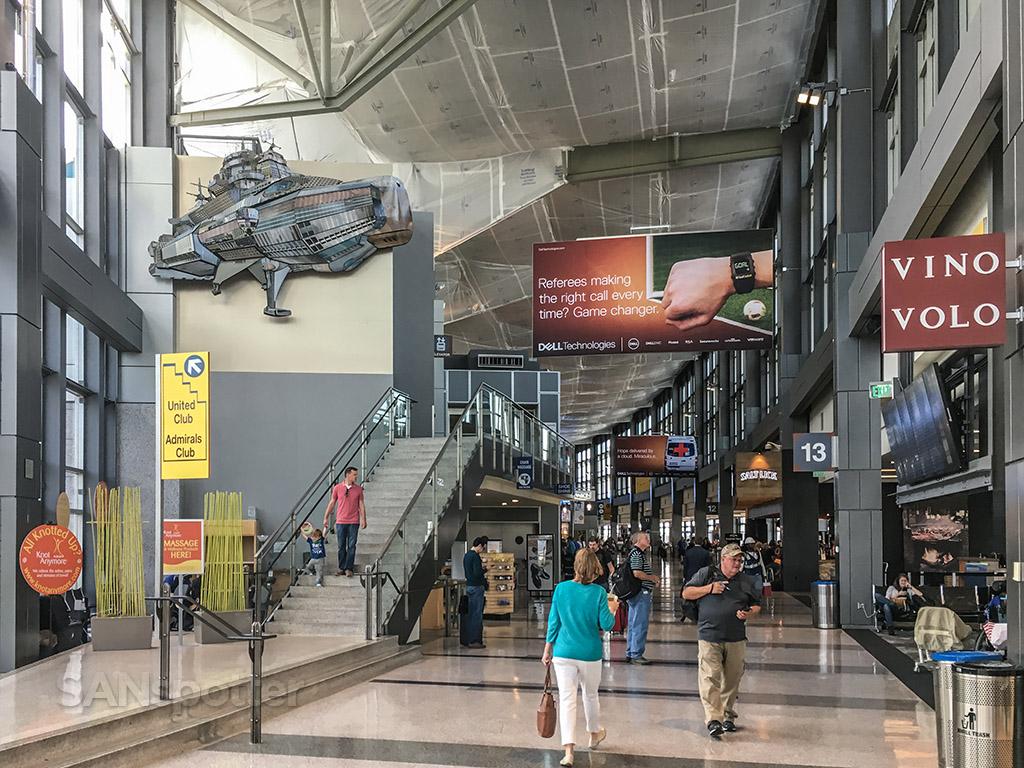 Austin Bergstrom Airport interior North terminal