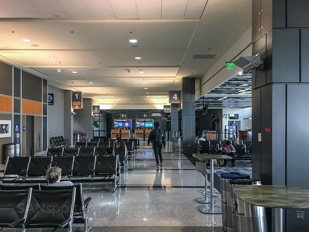 Austin airport terminal interior