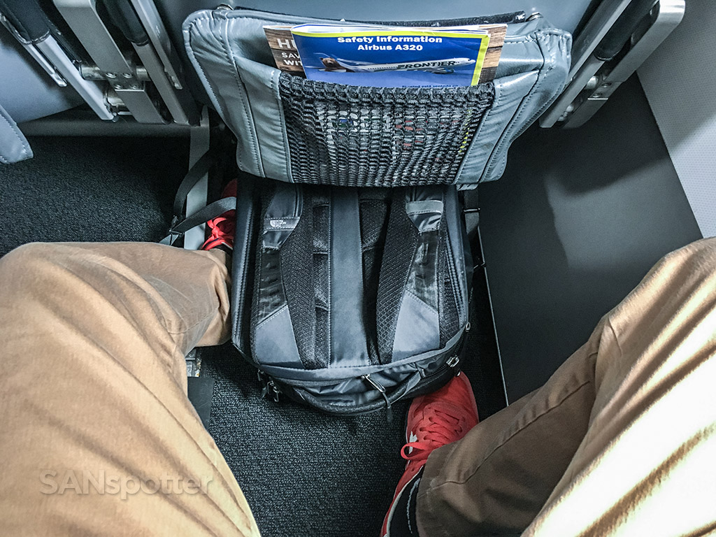 Frontier airlines A320neo stretch seat pitch