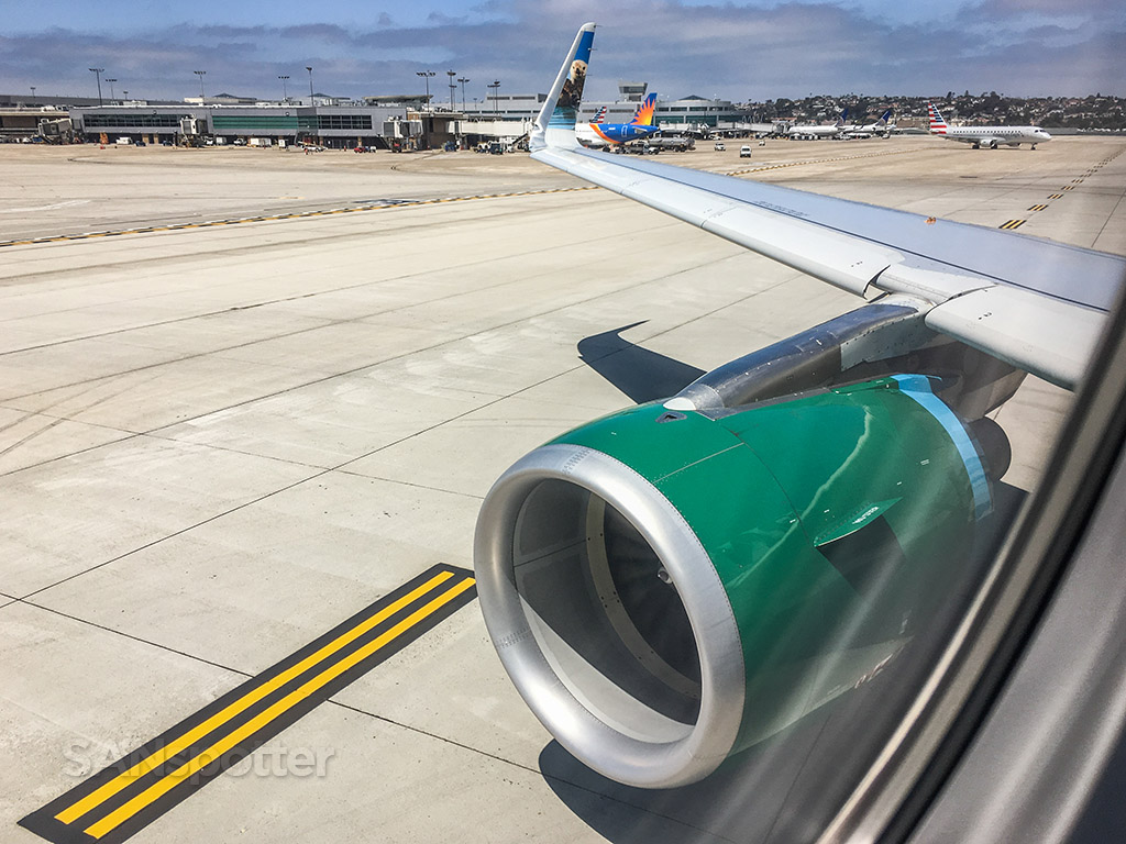 Frontier and allegiant Airlines San Diego airport