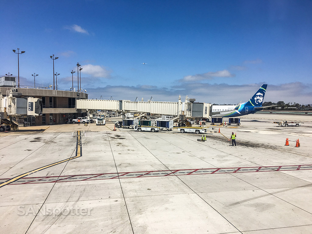 Alaska airlines San Diego airport