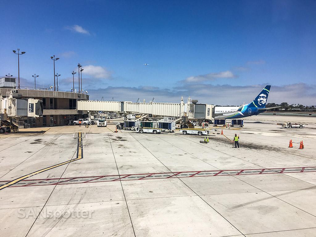 Alaska airlines San Diego airport