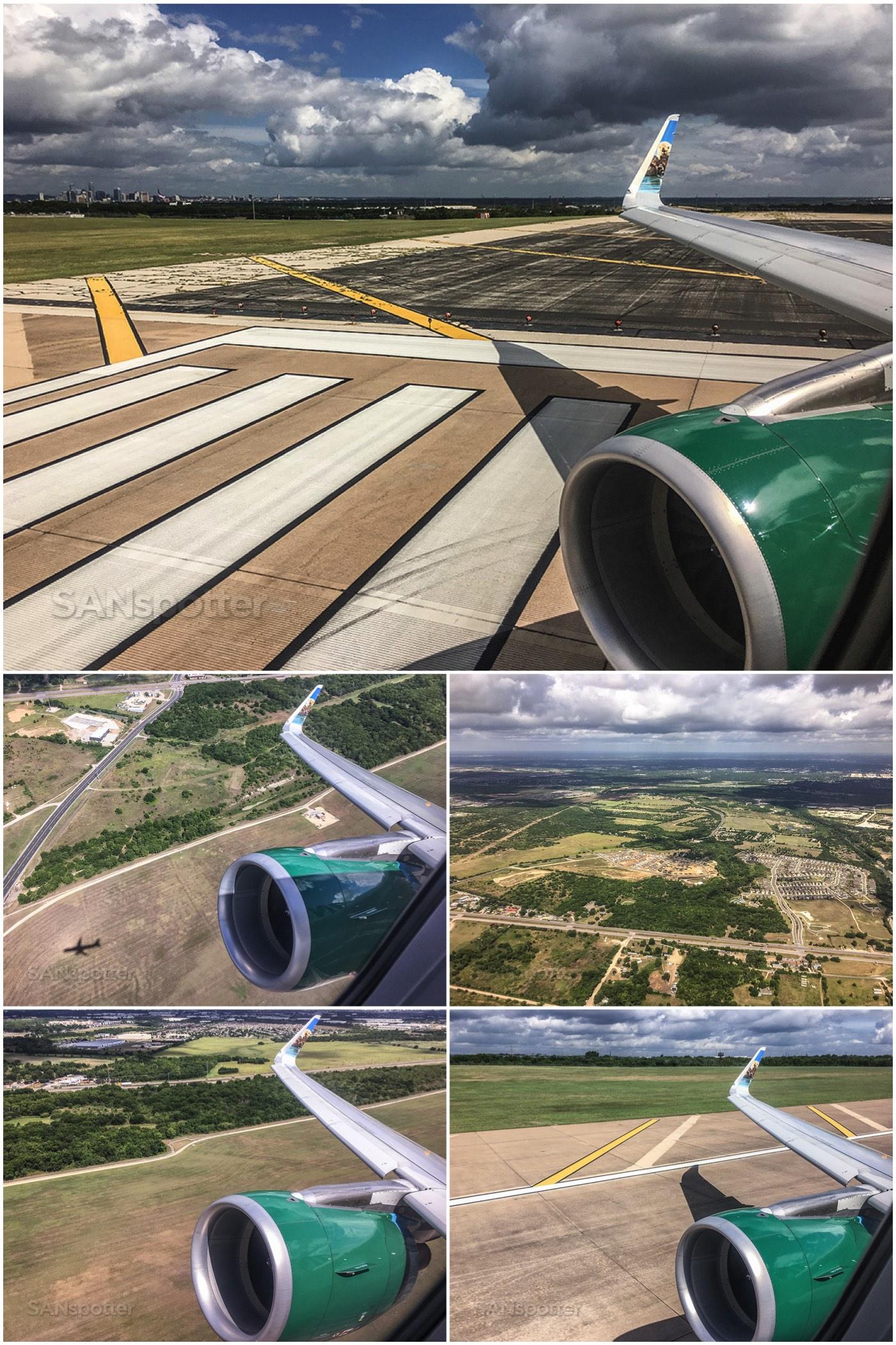 Departing Austin airport