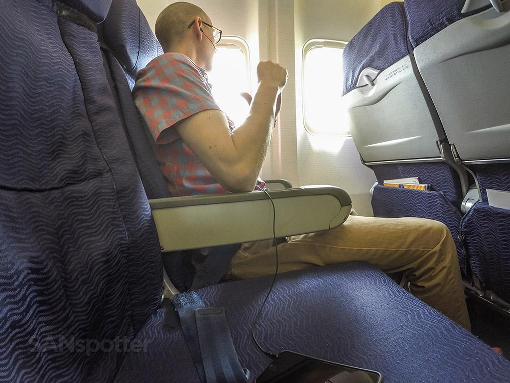 SANspotter selfie Hawaiian Airlines 767