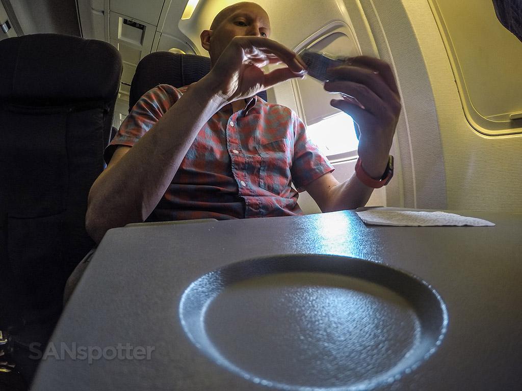 SANspotter Hawaiian Airlines window seat 767