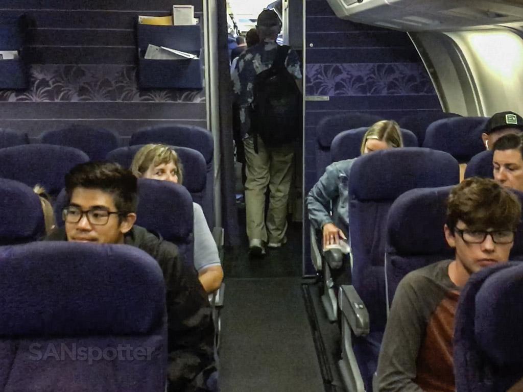 Hawaiian airlines 767 interior