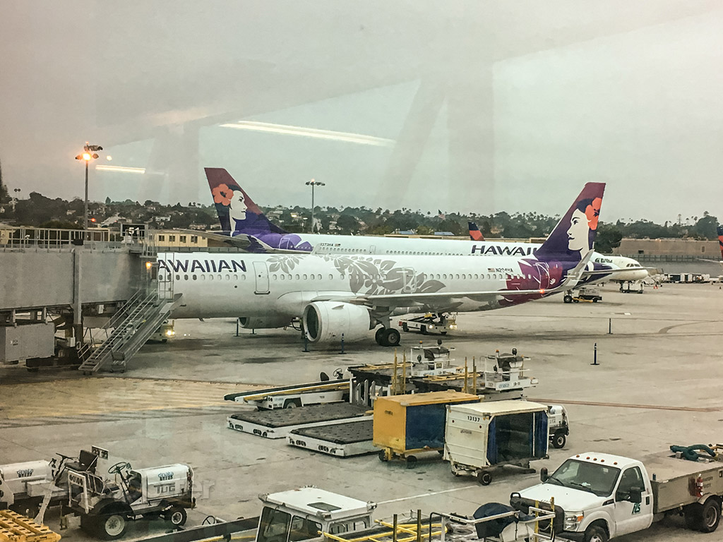 Hawaiian Airlines A321neo San Diego airport