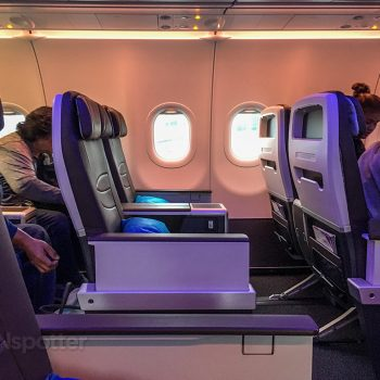 Hawaiian airlines A321neo First class seats