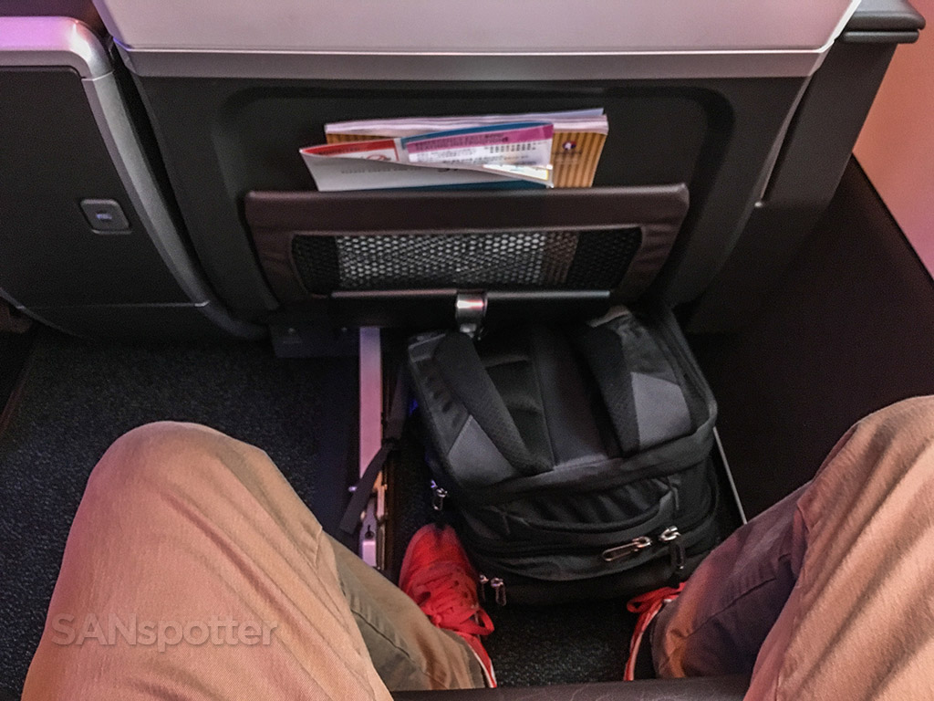 Hawaiian Airlines A321neo first class seat pitch